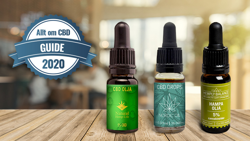 CBD-olja-guide